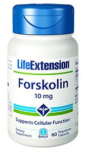 Forskolin | 10 mg, 60 vegetarian capsules