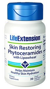 View Full Size×CloseSkin Restoring Phytoceramides with Lipowheat® offers the skin-nourishing benefits of wheat-derived ceramide oils in a  convenient oral supplement designed  to support dermal elasticity, proper hydration, and lasting comfort!Benefits  at a Glance    Concentrated oral