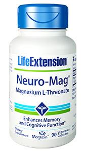 Neuro-Mag® Magnesium L-Threonate | 90 vegetarian capsules