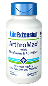 ArthroMax® with Theaflavins & Apr?sFlex® | 120 vegetarian capsules