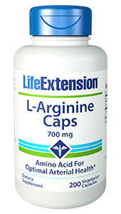 L-arginine is a semi-essential amino acid involved in numerous areas of human biochemistry, including ammonia detoxification, hormone secretion, and immune modulation. Arginine is also well known as a precursor to nitric oxide (NO), a key component of endothelial-derived relaxing factor