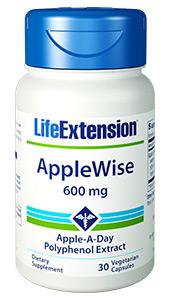 AppleWise | 600 mg, 30 vegetarian capsules