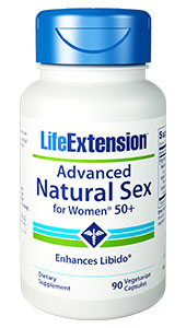 Advanced Natural Sex for Women® 50+ | 90 vegetarian capsules