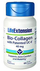 Bio-Collagen with Patented UC-II® | 40 mg, 60 small capsules
