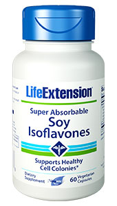 Super-Absorbable Soy Isoflavones | 60 vegetarian capsules