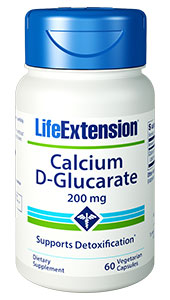Calcium D-Glucarate | 200 mg, 60 vegetarian capsules