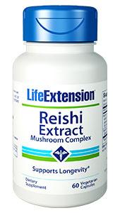 Reishi Extract Mushroom Complex | 60 vegetarian capsules