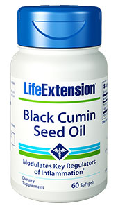 Black cumin seed oil is  particularly effective at balancing both immune and inflammatory responses,  which is critical to guarding our health as we age. With its broad spectrum of  active compounds, our Black Cumin Seed Oil does double duty