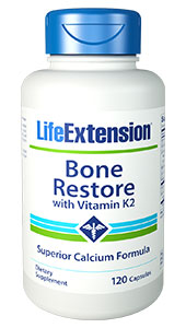 Bone Restore with Vitamin K2 | 120 capsules