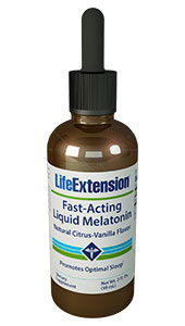 Fast-Acting Liquid Melatonin | 3 mg, 2 fl oz (59 mL)