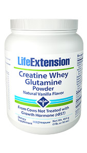 Whey protein can build lean muscle and inhibit protein breakdown.1 Studies suggest whey protein isolate as a useful supplement for muscle recovery and immune regulation for athletes and others.2-9 In addition, protein supplementation may help enhance muscle protein anabolism and