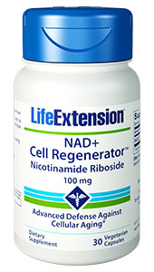 NAD+ Cell Regenerator™ | 100 mg, 30 vegetarian capsules