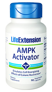 AMPK  Activator is an oral formula that turns on AMPK (adenosine monophosphate-activated  protein kinase), an enzyme that serves as the body&rsquo