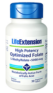 Folate  helps maintain homocysteine levels within the normal range, which promotes  cardiovascular health. And it also supports neurotransmitter synthesis &mdash