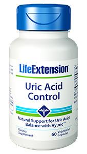 Uric Acid Control | 60 vegetarian capsules