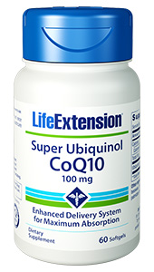 Super Ubiquinol CoQ10 | 100 mg, 60 softgels