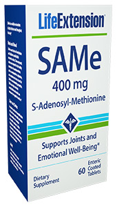SAMe (S-Adenosyl-Methionine) | 400 mg, 60 enteric coated tablets