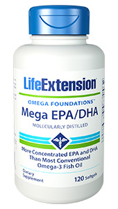 Mega EPA/DHA | 120 softgels