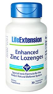 Enhanced Zinc Lozenges | 30 vegetarian lozenges