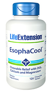 EsophaCool™ | 120 chewable tablets
