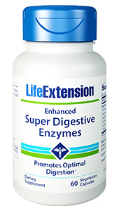 Do  you experience digestive discomfort after meals? One of the reasons is that  your body produces fewer digestive enzymes as you age. Enhanced Super  Digestive Enzymes provides a powerful dose of amylase, protease,  and lipase  pancreatic digestive enzymes that