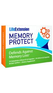 Memory Protect | 12 Colostrinin-Lithium (C-Li) Capsules | 24 Lithium (Li) Capsules