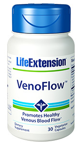 Maintaining healthy blood flow in your arms, legs, and extremities is particularly important for older adults, as well as those forced to endure extended periods of immobility such as long-distance travelers or office workers. Our unique VenoFlow formula combines the