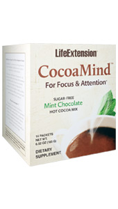 CocoaMind™ | 14 single-serving packets, 6.56 oz (186 g)
