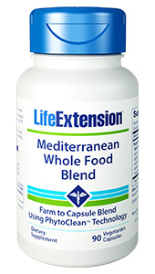 Mediterranean Whole Food Blend | 90 vegetarian capsules