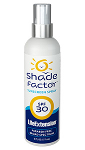 Shade Factor™ Sunscreen Spray SPF 30 | 6 fl oz (177 ml)