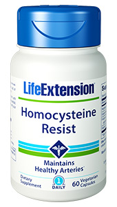 Homocysteine Resist is a B vitamin  supplement specially formulated for your heart and brain. It helps your body  maintain heart-healthy levels of homocysteine already within normal range.  Homocysteine is a natural compound produced by your cells. But as we age