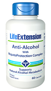 Anti-Alcohol with HepatoProtection Complex provides  broad-spectrum nutrients designed to combat free radicals, neutralize alcohol  metabolites such as acetaldehyde, and support healthy liver function.    Benefits  at a Glance          Helps neutralize alcohol metabolites      Offers powerful blend of antioxidants      Supports the integrity of