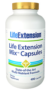 Studies show that people who eat the most fruits and  vegetables enjoy healthier and longer lives, but getting the recommended five  servings a day is difficult for even the healthiest diets. Thats why we  created Life Extension Mix, a daily