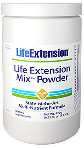 Life Extension Mix™ Powder | 420 g (0.92 lb. or 14.81 oz.)