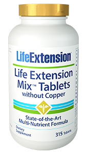 Life Extension Mix™ Tablets without Copper | 315 tablets
