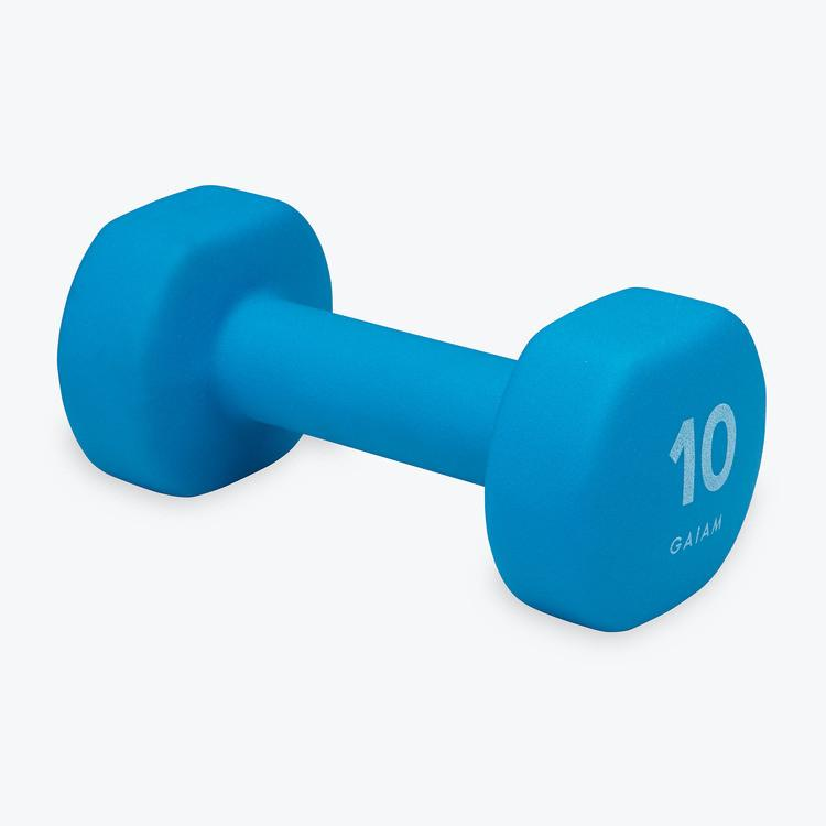 10LB NEOPRENE HAND WEIGHTS