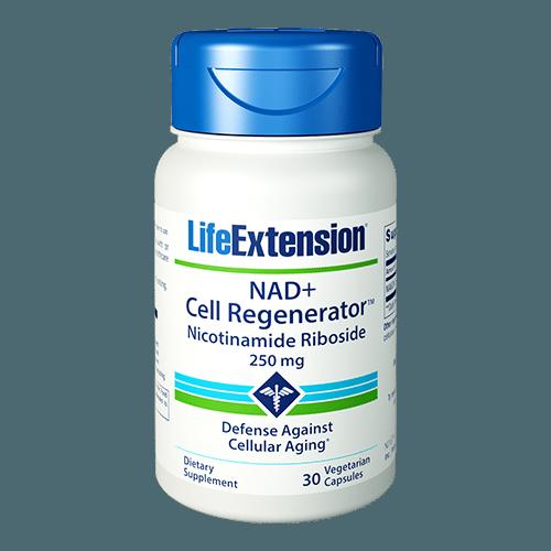 NAD+ Cell Regenerator™ | 250 mg, 30 vegetarian capsules