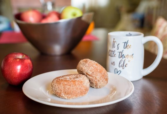 Apple cider and donuts