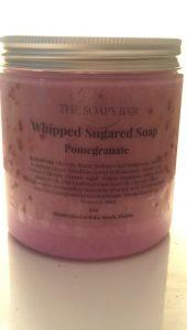 Pomegranate Whipped Sugared Scrub