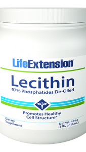Lecithin contains all the phosphatides found naturally in cell membranes. Lecithin works by increasing the cell membrane ratio of phosphatidylcholine/phosphatidylethanolamine to cholesterol, maintaining cell membrane structure and increasing cell membrane fluidity.