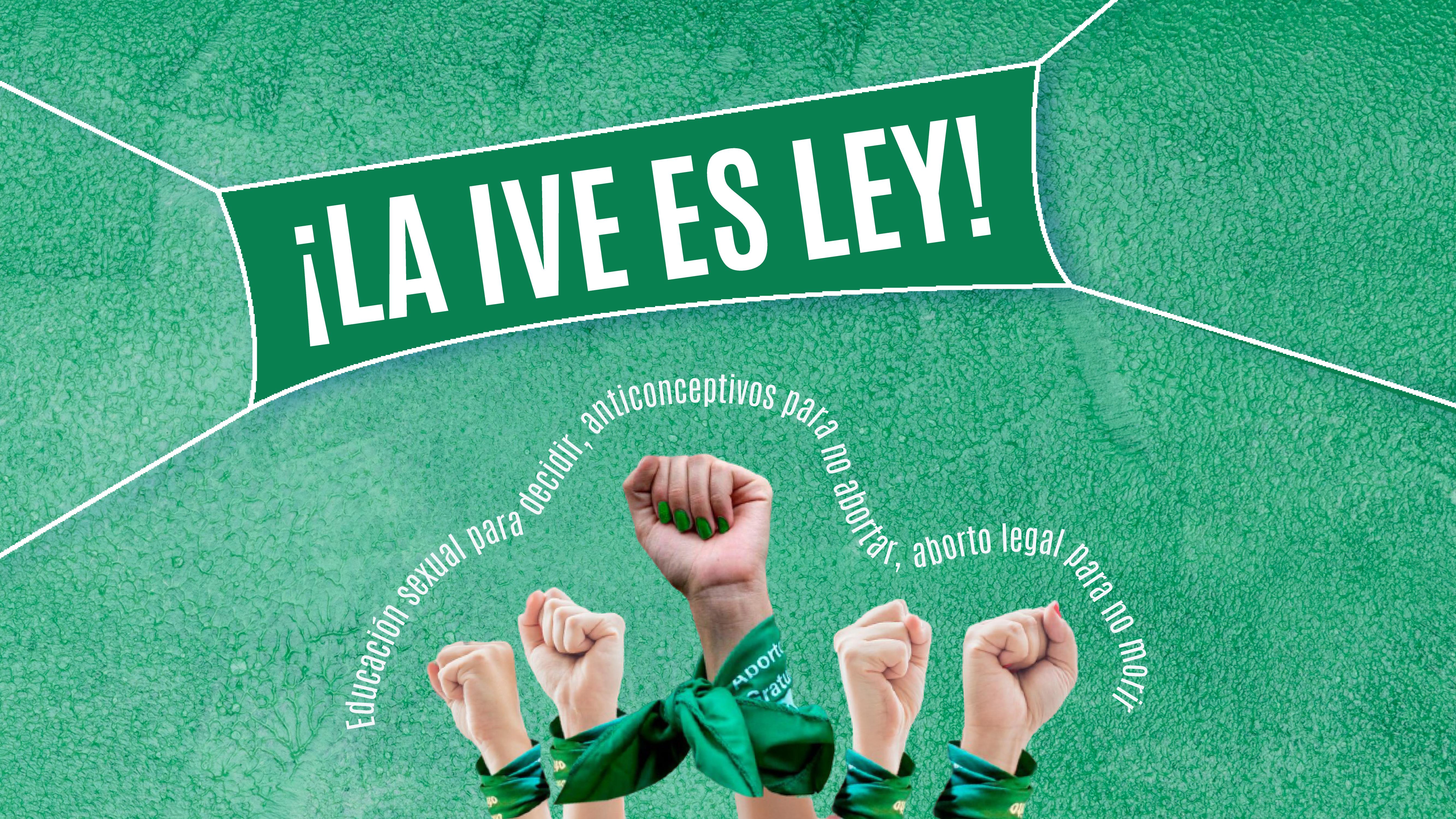 ¡LA IVE ES LEY!