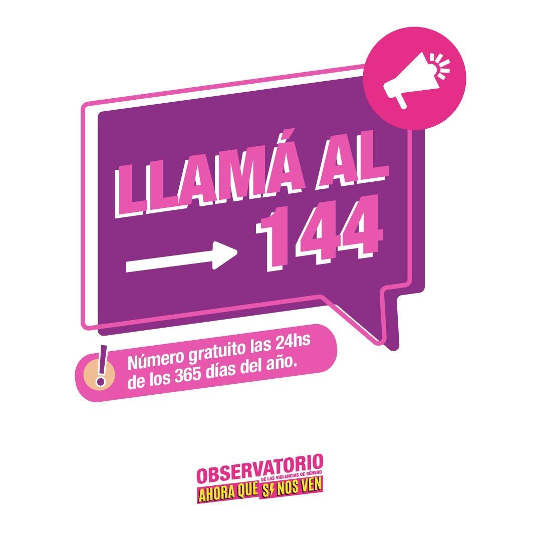 Llama al 144