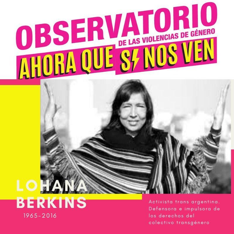 Lohana activista trans argentina