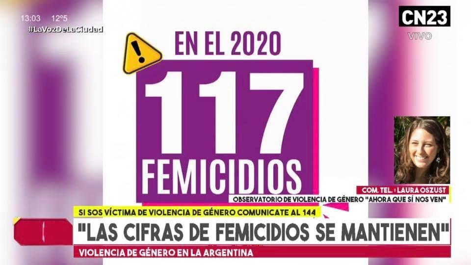 cn23 imagen 117 femicidios