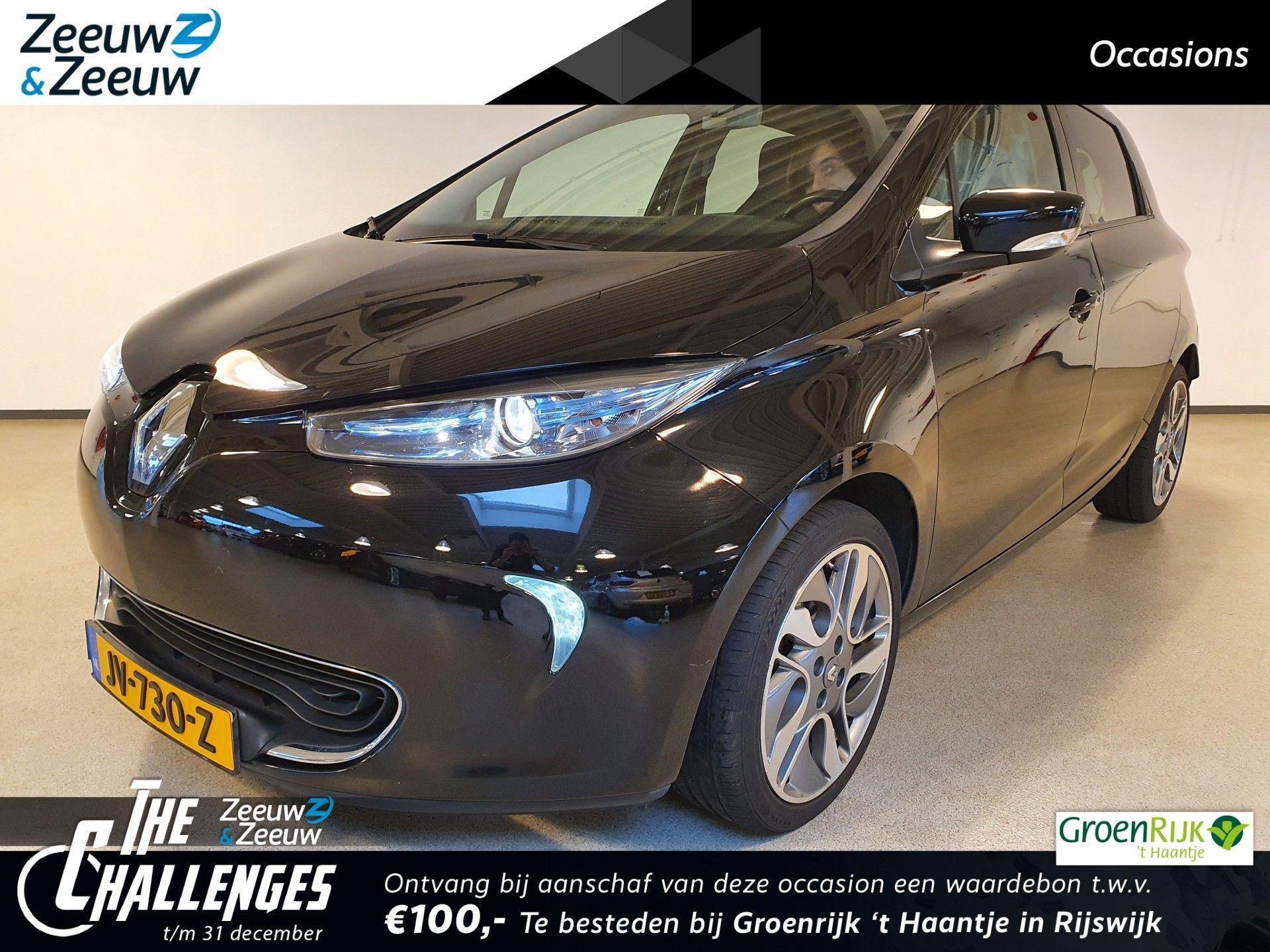 Renault Zoe Q210 Intens Quickcharge 22 kWh (ex Accu) NAVI CLIMATE PARKEERSENSOR VELGEN TEL
