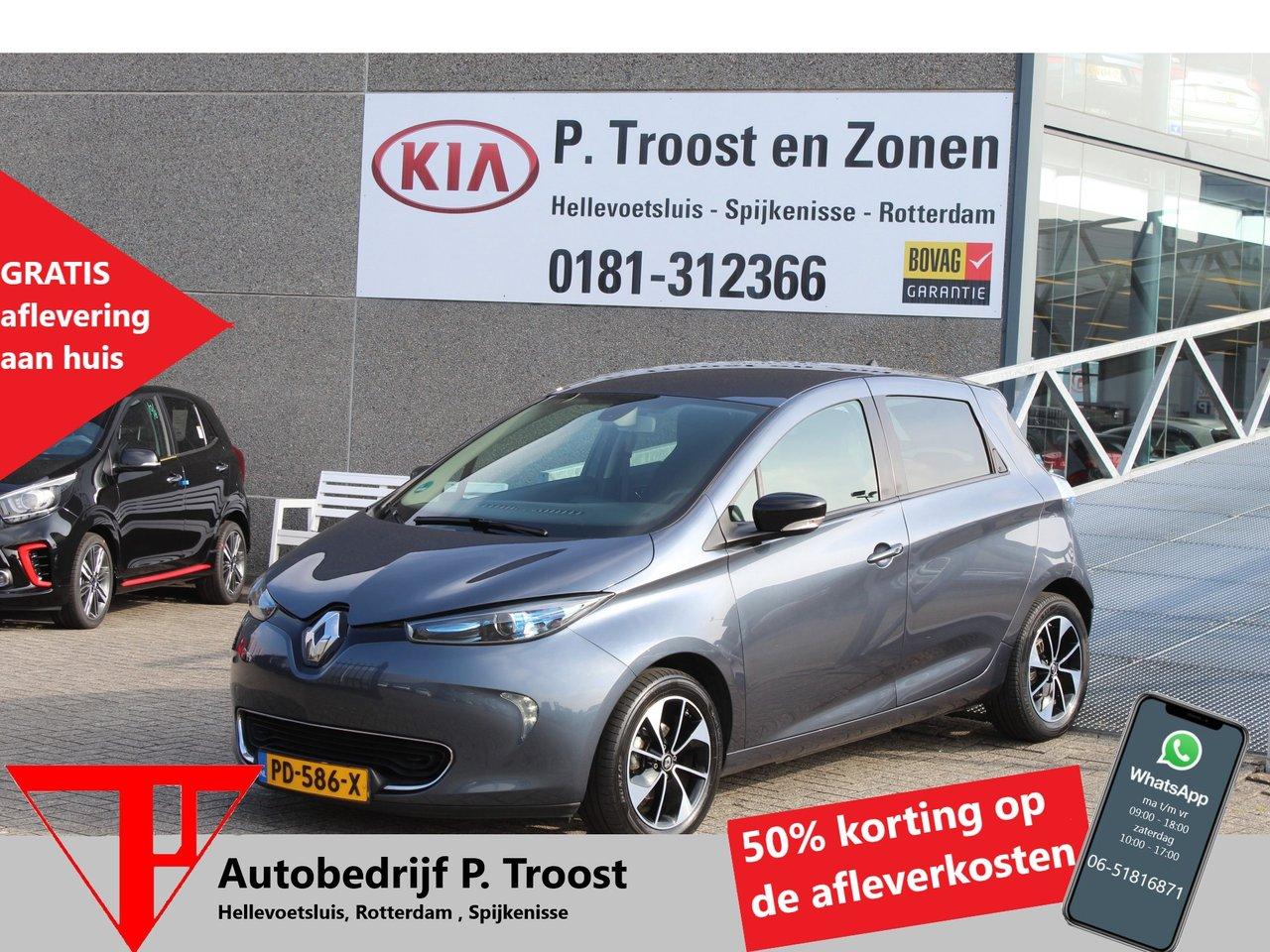 Renault Zoe Q90 Intens Quickcharge 41 kWh Navigatie/Climate controle/Cruise controle/Achteruitrij camera/Keyless/Ex. BTW WIJ ZIJN GEWOON GEOPEND!!