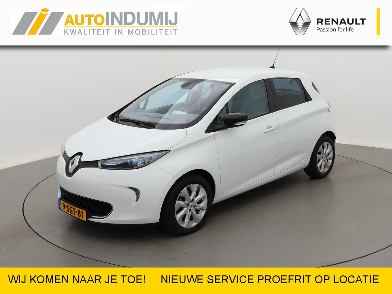 RenaultZoe - Q210 Zen Quickcharge 22 kWh (ex Accu) // Navi / Climate Control / Cruise Control / Sensore