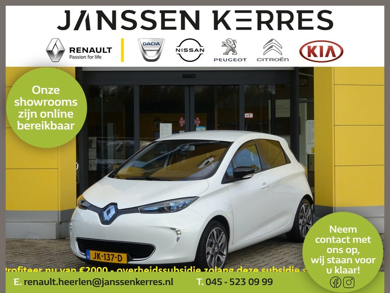 Renault Zoe - R240 INTENS 22KWH ACCUHUUR | CLIMATE CONTROL | NAVI | PARKEERHULP