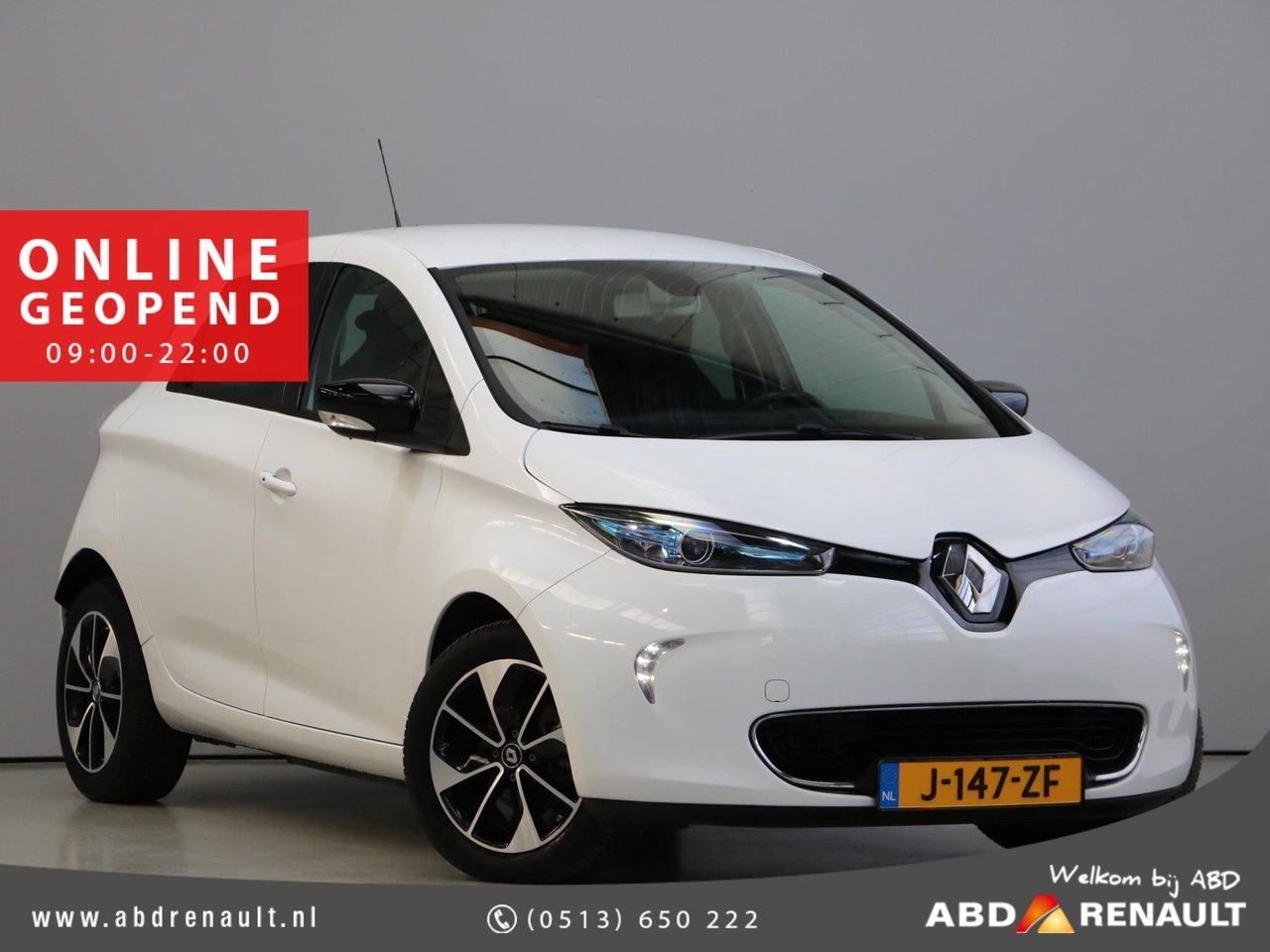 RenaultZoe - R90 Intens 41 kWh   €2.000 SUBSIDIE   4% BIJTELLING   Accu huur