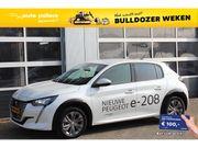 Peugeot208 - New EV 50kWh Allure   van 37250 voor 33900 euro   CRUISE CONTROL   navigatie   PARKEERHULP